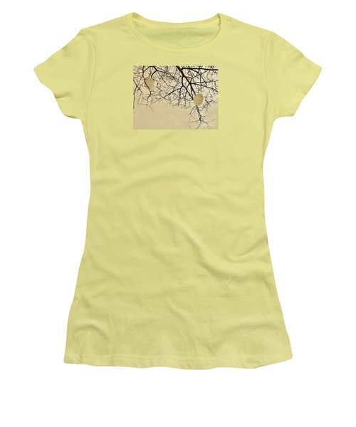 Tree Orbs Women's T-Shirt (Junior Cut) by Reb Frost