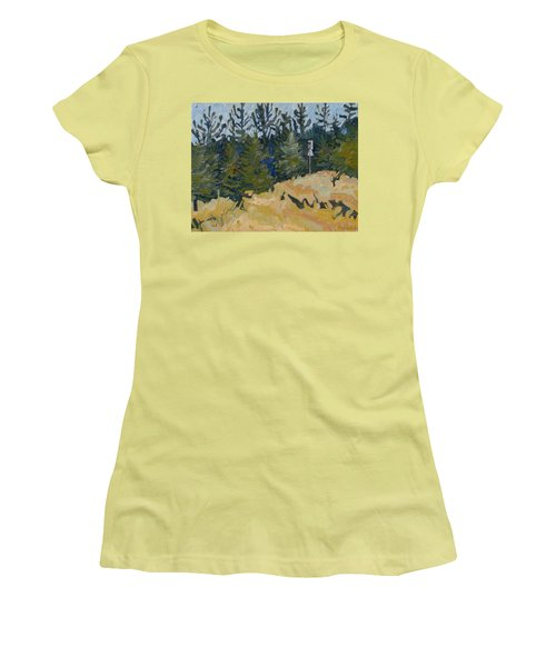 Trees Grow Women's T-Shirt (Athletic Fit)
