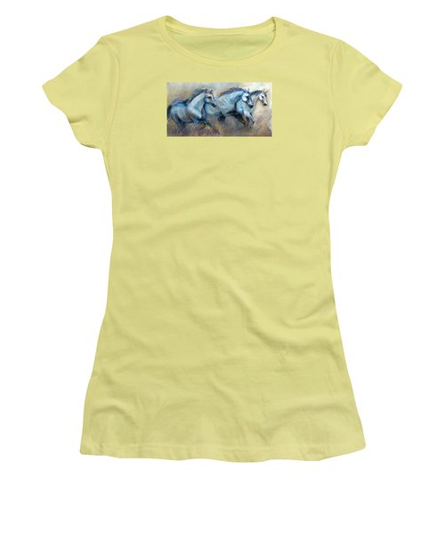 Tres Amigos Tshirt Women's T-Shirt (Junior Cut) by Loretta Luglio