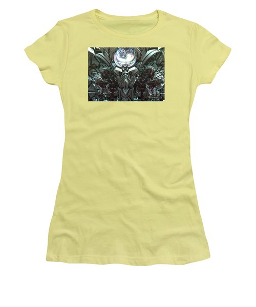 Tribal Symbols  Women's T-Shirt (Athletic Fit)
