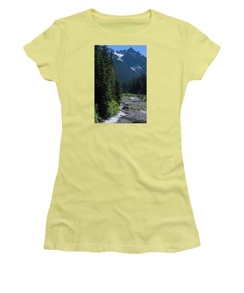 Trickling Women's T-Shirt (Athletic Fit)