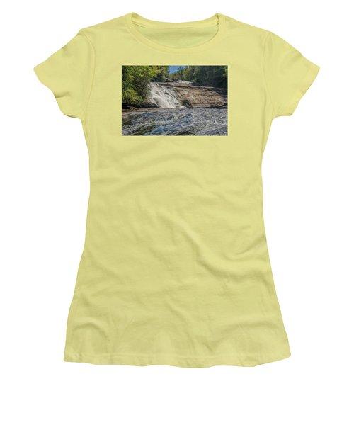 Triple Falls Second Tier Women's T-Shirt (Junior Cut) by Steven Richardson