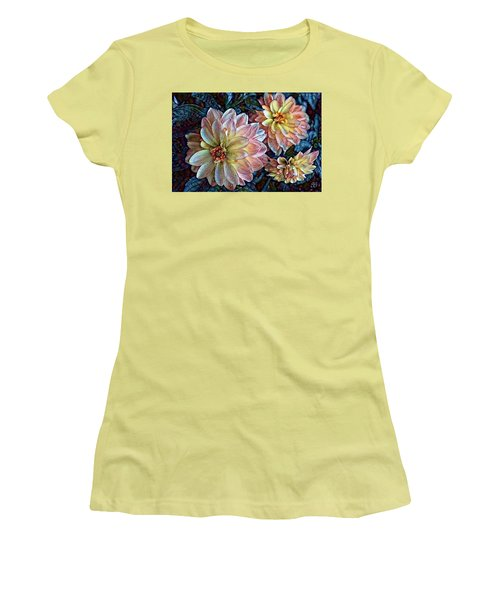 Women's T-Shirt (Junior Cut) featuring the photograph Trois by Geri Glavis