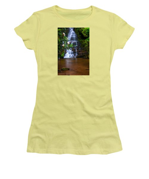 Tropical Garden Women's T-Shirt (Athletic Fit)