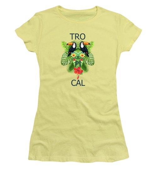 Tropical Summer  Women's T-Shirt (Junior Cut)