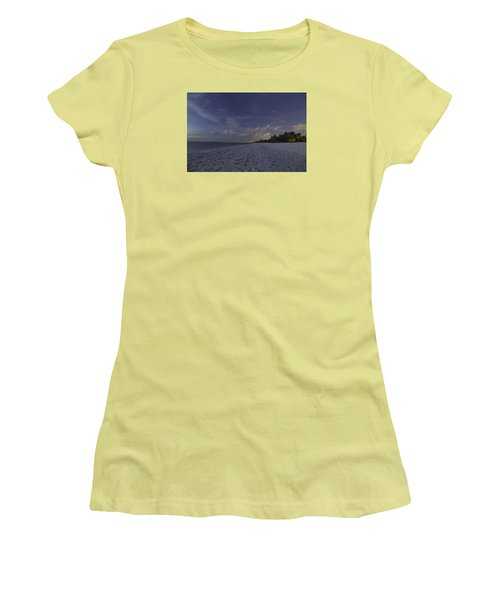 Tropical Winter Women's T-Shirt (Junior Cut) by Christopher L Thomley