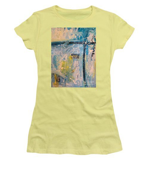 Tropicana Bird 01 Women's T-Shirt (Athletic Fit)