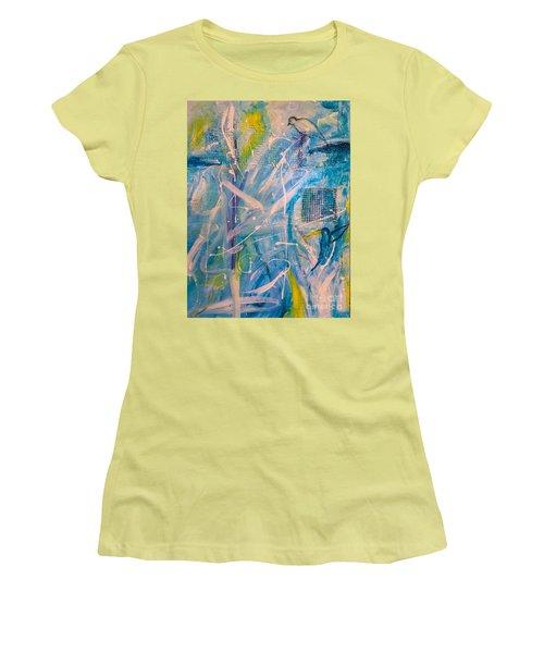 Tropicana Bird 02 Women's T-Shirt (Junior Cut) by Gallery Messina