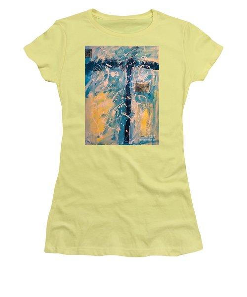 Tropicana Bird 03 Women's T-Shirt (Junior Cut) by Gallery Messina
