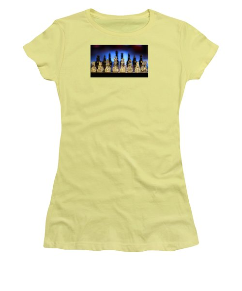Trouble On The Horizon Women's T-Shirt (Junior Cut) by Stephen Flint