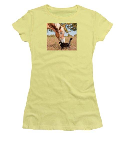 Truest Friendship Women's T-Shirt (Athletic Fit)
