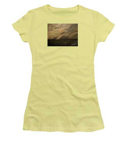 Women's T-Shirt (Junior Cut) featuring the painting Tuesday Morning by John Stuart Webbstock
