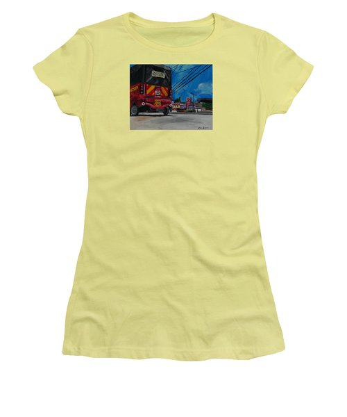 Tuk Tuk Women's T-Shirt (Athletic Fit)