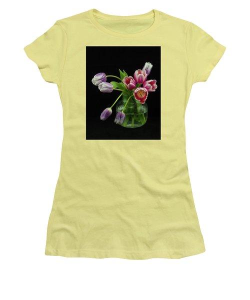 Tulip Bouqet Women's T-Shirt (Athletic Fit)