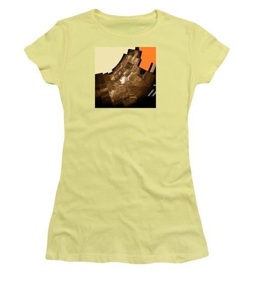 Tumble 1 Women's T-Shirt (Junior Cut) by Andrew Drozdowicz