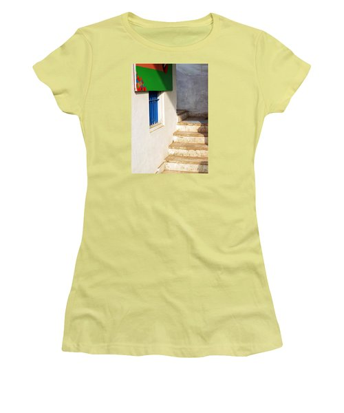 Women's T-Shirt (Junior Cut) featuring the photograph Turn Left by Prakash Ghai
