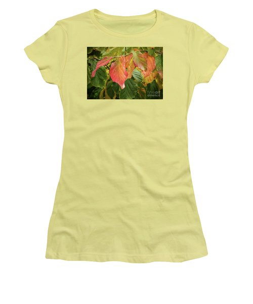 Women's T-Shirt (Athletic Fit) featuring the photograph Turning by Peggy Hughes