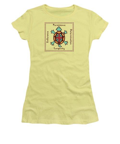 Turtle Animal Spirit Women's T-Shirt (Athletic Fit)