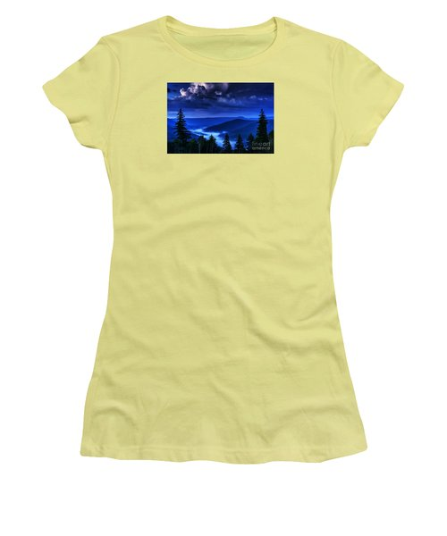 Twilight Thunderhead Women's T-Shirt (Athletic Fit)