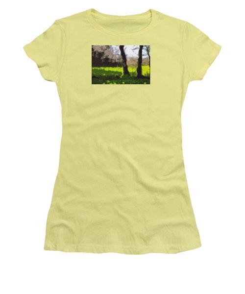 Twin Flames Women's T-Shirt (Junior Cut) by Spyder Webb