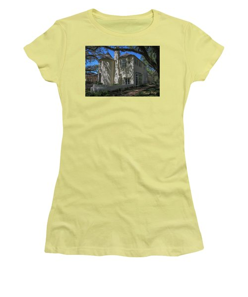 Women's T-Shirt (Junior Cut) featuring the photograph Ul Alum House by Gregory Daley  PPSA