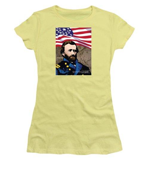 Ulysses S. Grant At Appomattox Women's T-Shirt (Athletic Fit)