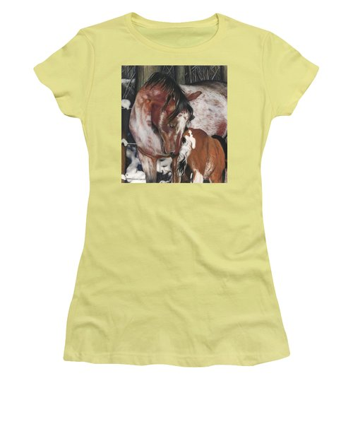 Unbreakable Bond, Pastel Women's T-Shirt (Junior Cut)