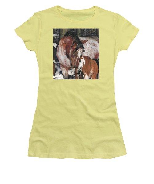 Unbreakable Bond, Pastel Women's T-Shirt (Athletic Fit)