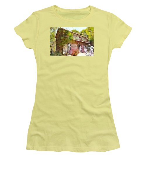Uncle Tom's Cabin Women's T-Shirt (Athletic Fit)