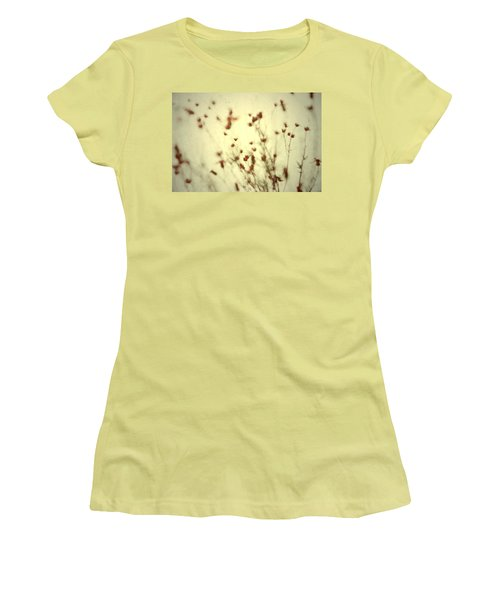 Women's T-Shirt (Junior Cut) featuring the photograph Undefined  by Mark Ross