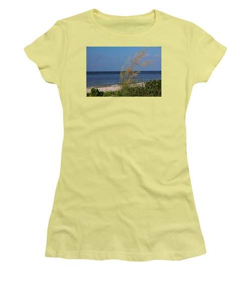 Women's T-Shirt (Athletic Fit) featuring the photograph Under A Summer Sky by Michiale Schneider