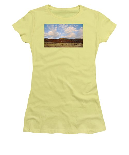 Under The Colorado Sky Women's T-Shirt (Athletic Fit)