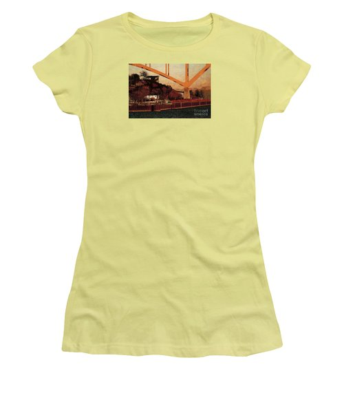 Under The Hoan Women's T-Shirt (Junior Cut) by David Blank