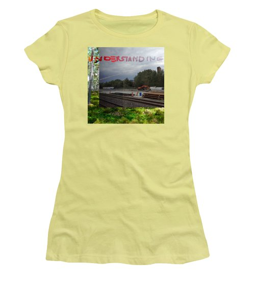 Understanding  Women's T-Shirt (Athletic Fit)