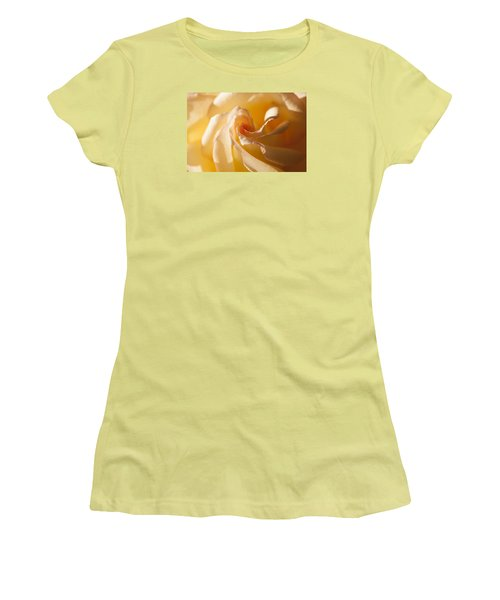 Unfurling Women's T-Shirt (Junior Cut) by Christina Lihani