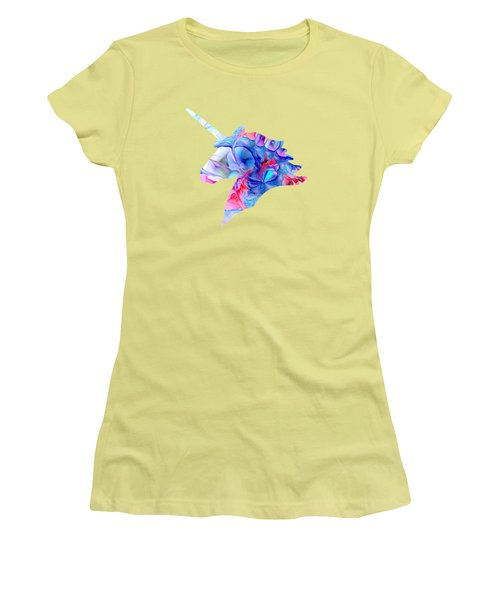 Unicorn Dream Women's T-Shirt (Athletic Fit)