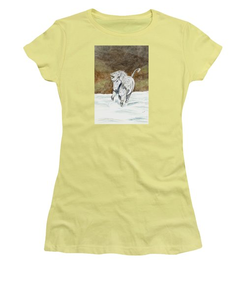 Unicorn Icelandic Women's T-Shirt (Athletic Fit)