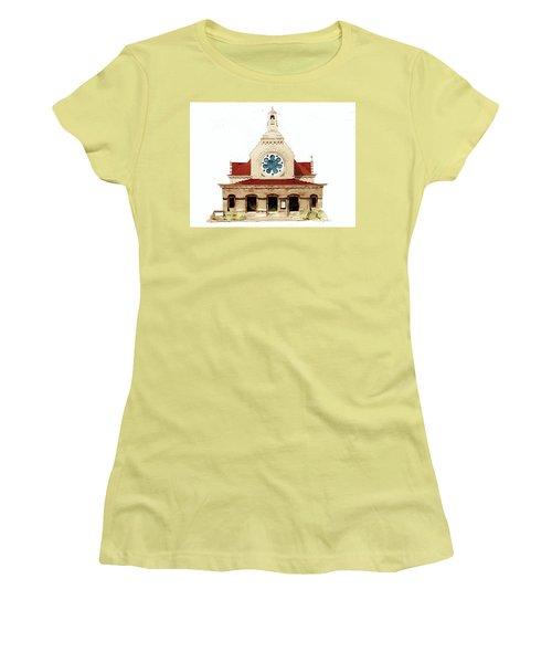 Unitarian Church - F.furness Women's T-Shirt (Junior Cut) by William Renzulli