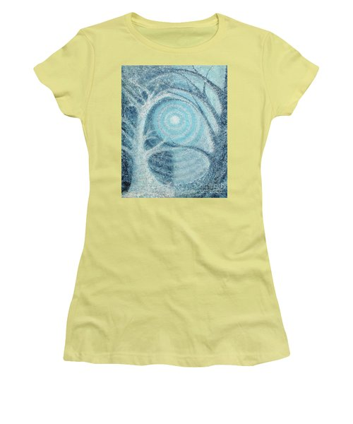 Women's T-Shirt (Junior Cut) featuring the painting Unity by Holly Carmichael