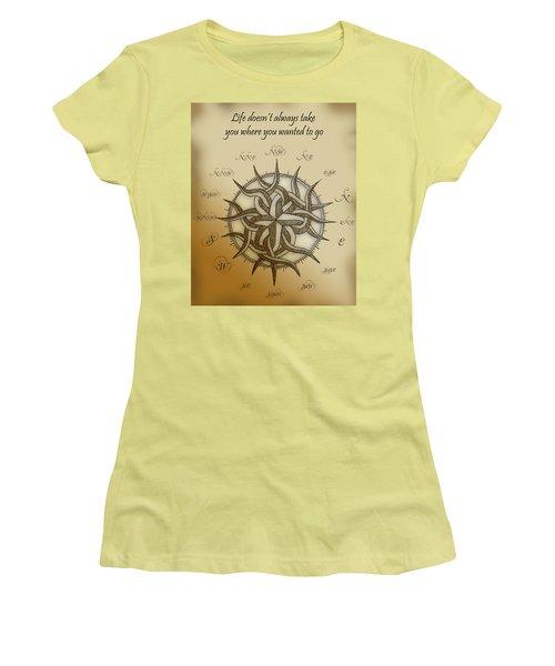 Unpredictable Journey Women's T-Shirt (Athletic Fit)