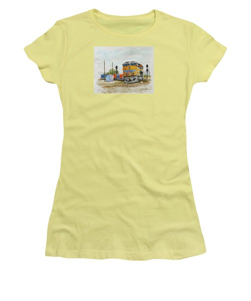 U.p. 8226 Women's T-Shirt (Athletic Fit)