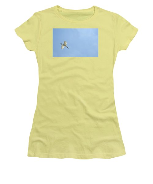 Up, Up And Away Women's T-Shirt (Athletic Fit)