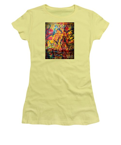 Urban Grunge Four Women's T-Shirt (Athletic Fit)