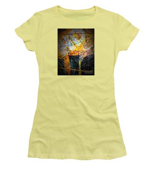 Urban Grunge Three Women's T-Shirt (Athletic Fit)