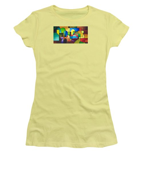 Urbanity 2 Women's T-Shirt (Junior Cut) by Sally Trace