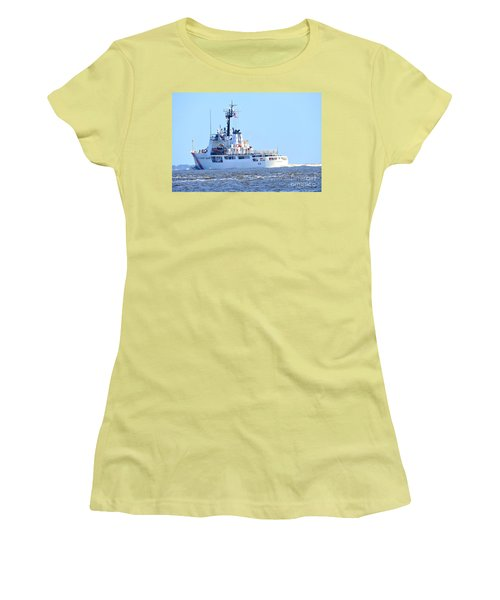 Us Coast Guard  - Diligence Women's T-Shirt (Junior Cut) by Shelia Kempf