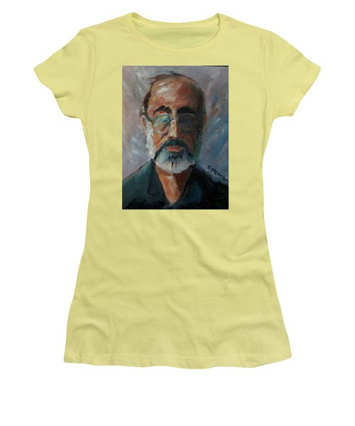 Women's T-Shirt (Junior Cut) featuring the painting Used To Be Me by Gary Coleman