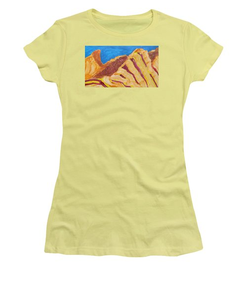 Utah  Canyons Women's T-Shirt (Junior Cut) by Don Koester