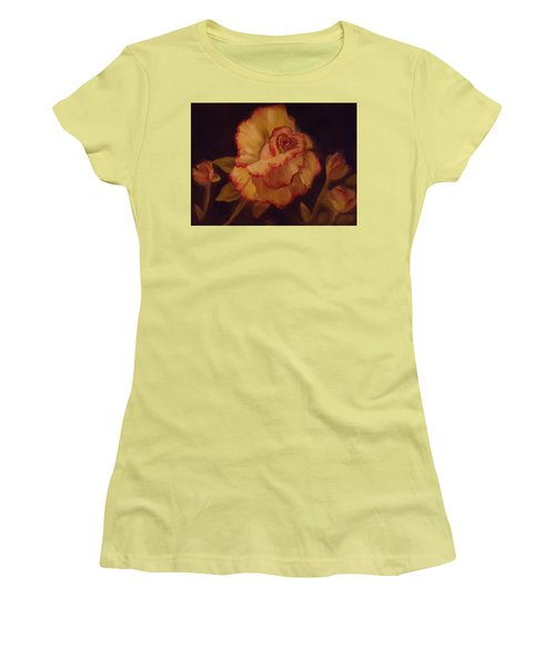 Valentine Rose 2 Women's T-Shirt (Junior Cut)
