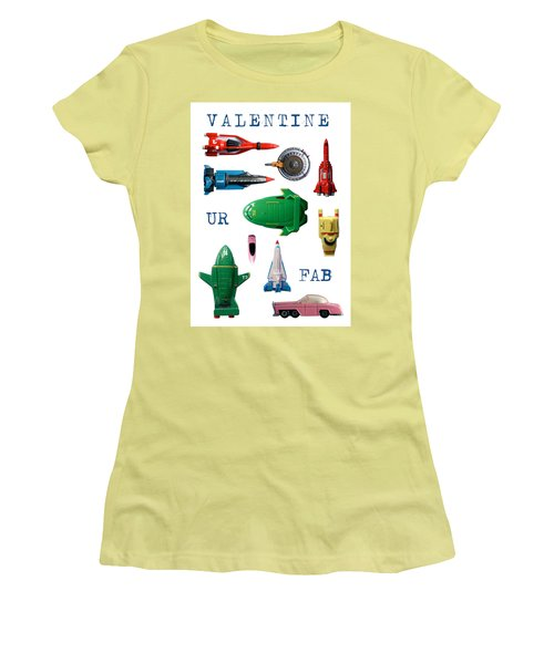 Valentine Ur Fab Women's T-Shirt (Athletic Fit)